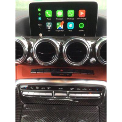 AMG GT CarPlay