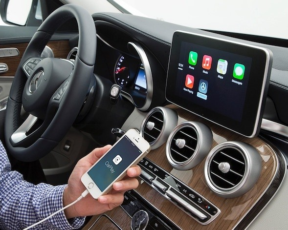 Mercedes Benz Apple Carplay Android Auto Smartbox V Class With Comand