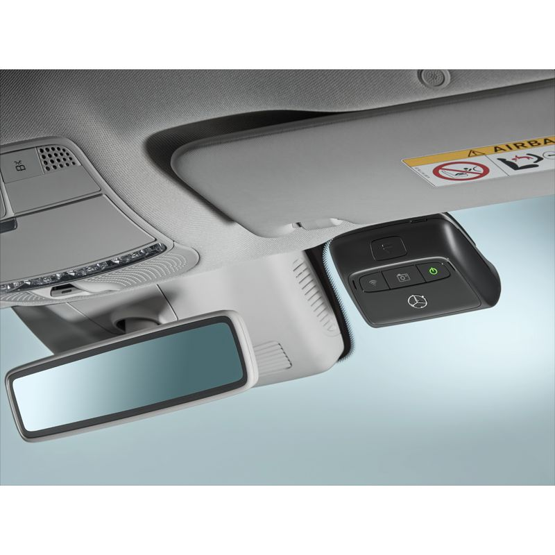 MB Front Dash Cam Internal View